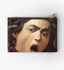 Medusa's Head by Caravaggio Studio Pouch