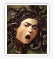 Medusa's Head by Caravaggio Sticker