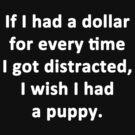 I Wish I Had a Puppy by Chris  Bradshaw