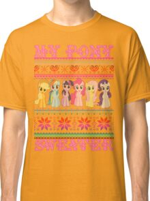 My Pony christmas sweater Classic T-Shirt