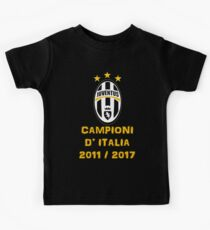 Juventus Campione d'Italia 2011 2017 Kids Tee