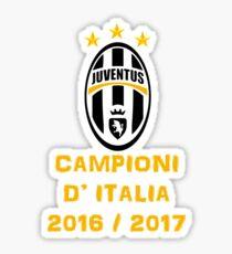 Juventus Campione d'Italia 2016 2017 Sticker
