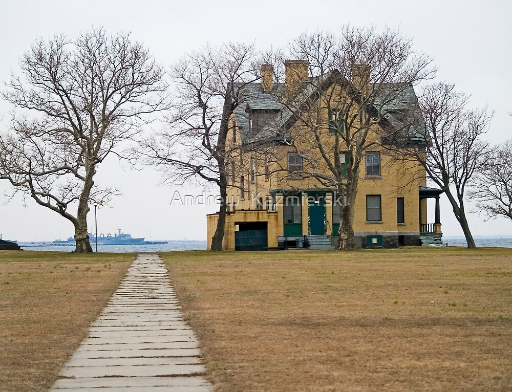 Barracks Home on Bay by andykazie