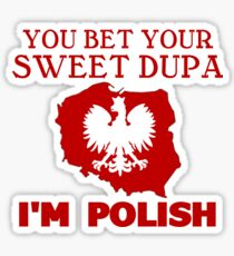Polish Pride! Sticker