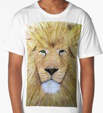 Portrait of a Lion  Long T-Shirt