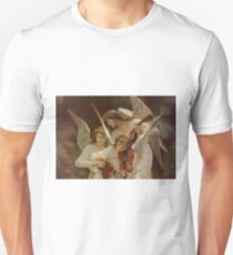 Angels by William Bouguereau T-Shirt