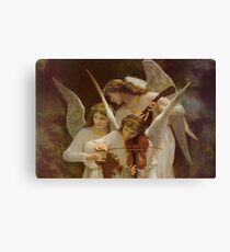 Angels by William Bouguereau Canvas Print