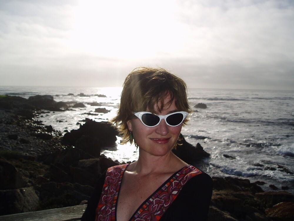 Self Portrait by Kathleen Madrid