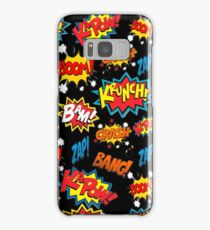 Comic Book Explosion Samsung Galaxy Case/Skin