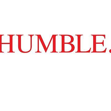 HUMBLE Kendrick Lamar by electricgrey