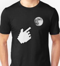 Finger pointing at the Moon ~ Zen Proverb Unisex T-Shirt