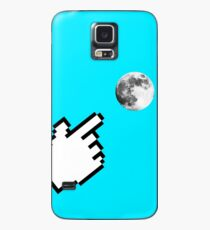 Finger pointing at the Moon ~ Zen Proverb Case/Skin for Samsung Galaxy