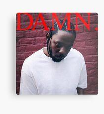Kendrick Lamar - VERDAMMT Metalldruck