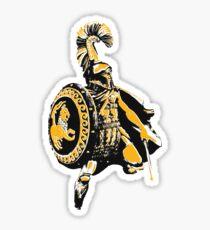 Greek hoplite warrior Sticker