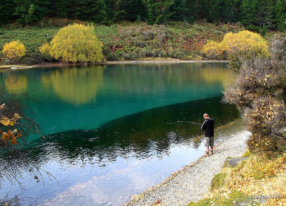 Gone Fishing by stevealder