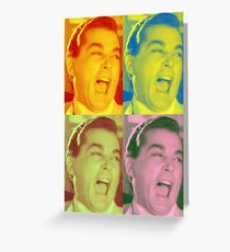 Ray Liotta Laugh Movie Goodfellas Greeting Card