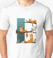 Fox forest  Unisex T-Shirt