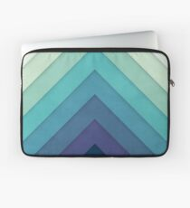 Retro Chevrons 001 Laptoptasche