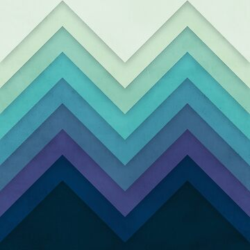 Retro Chevrons 001 by geekchic