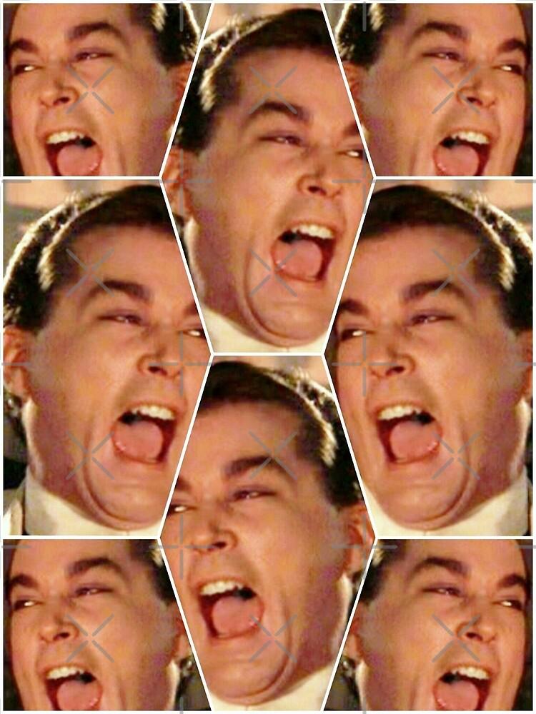 """Ray Liotta Laugh mafia gangster movie Goodfellas Honeybee"