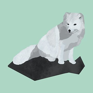 Arctic Fox by artsandherbs