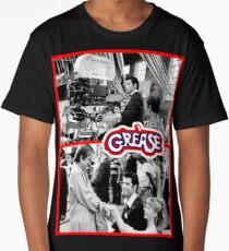 GREASE-BEHIND THE SCENES Long T-Shirt