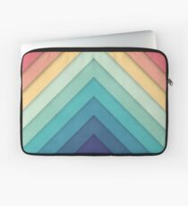 Retro Chevrons 002 Laptop Sleeve