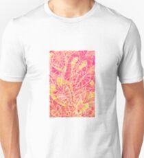 Schismatoglottis Calyptrata – Pink/Peach Palette Unisex T-Shirt