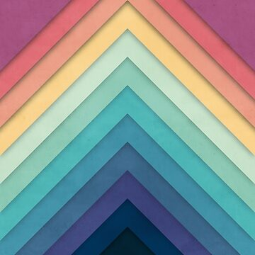 Retro Chevrons 002 by geekchic