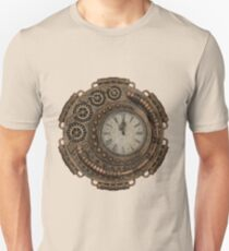Steampunk Clock Design T-Shirt