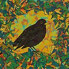 Blackbird and Ivy by lottibrown