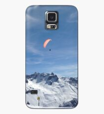 Flying High in the Alps! Case/Skin for Samsung Galaxy