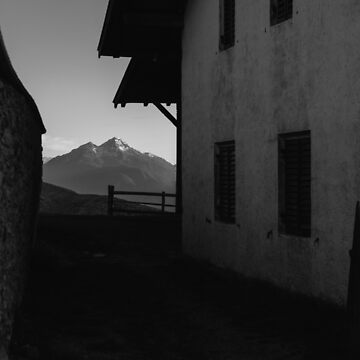 Window to the Mountains by Hudolin