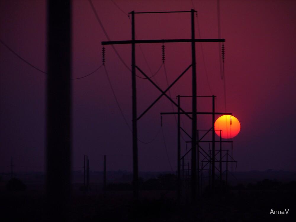 sunset drive by AnnaV