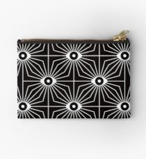 Electric Eyes - Black and White Studio Pouch