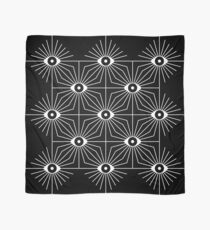 Electric Eyes - Black and White Scarf