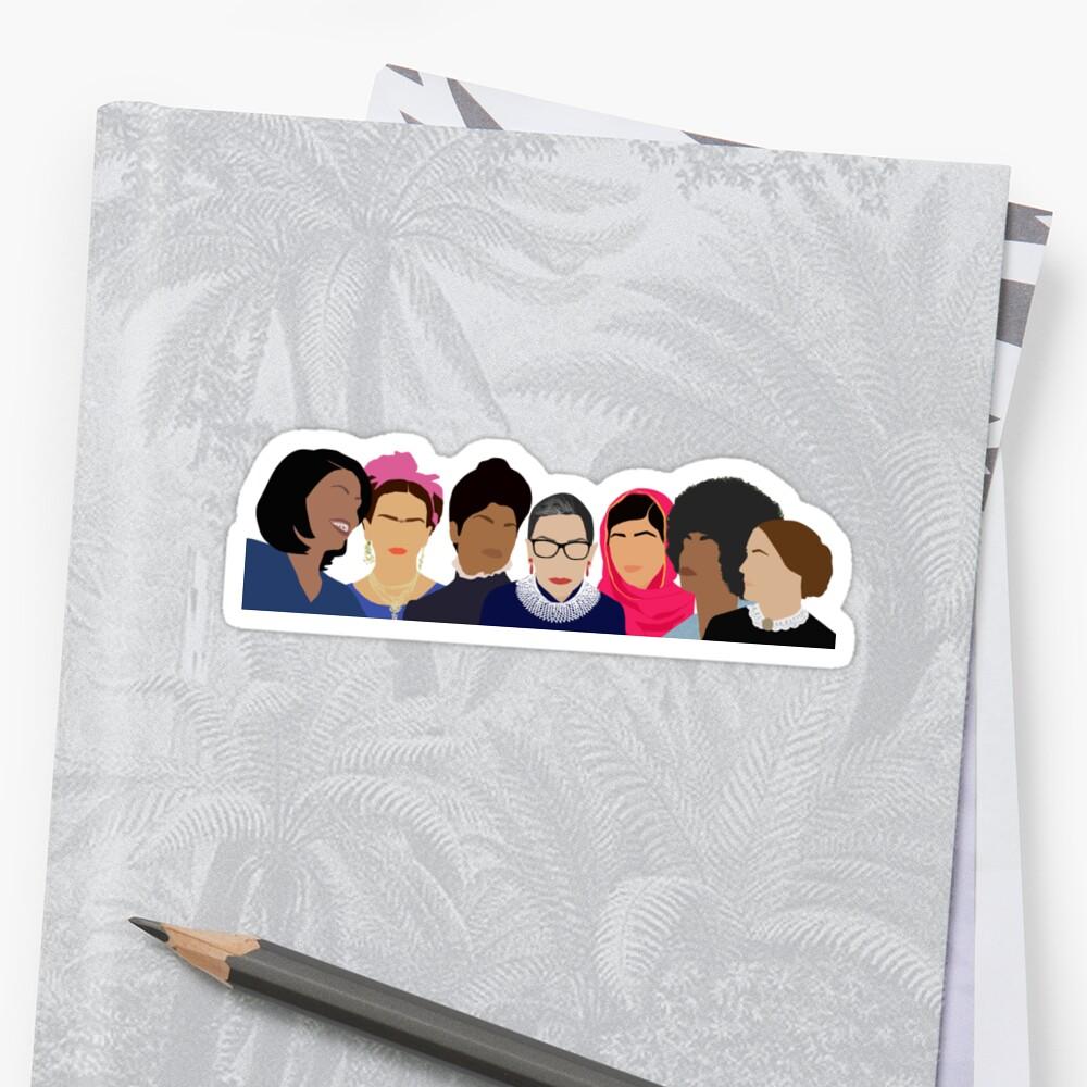 Feminist Girl Gang- Squad Goals Sticker