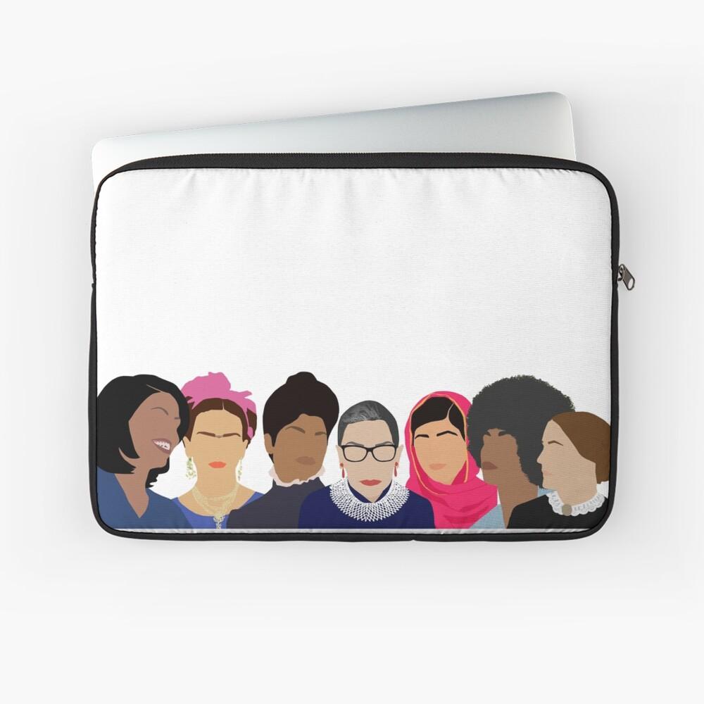 Feminist Girl Gang- Squad Goals Laptop Sleeve