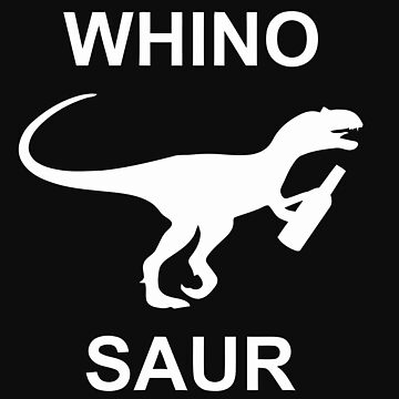 Whinosaur Popular Funny Wine Lover Dinosaur Humor Party by nhannvangg