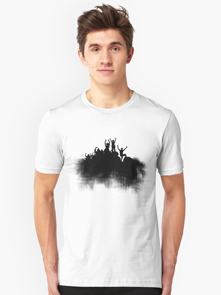 Cloud Top Party Unisex T-Shirt Front