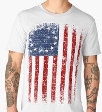 USA 13 Star 1776 Flag Men's Premium T-Shirt