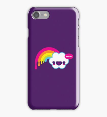 Wow Rainbow iPhone Case/Skin