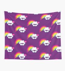 Wow Rainbow Wall Tapestry