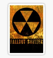 Fallout Shelter Sticker