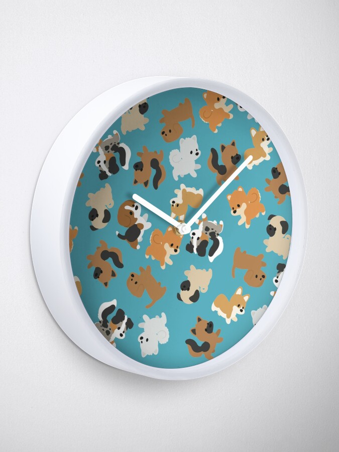 Alternate view of Chibi Puppers Clock