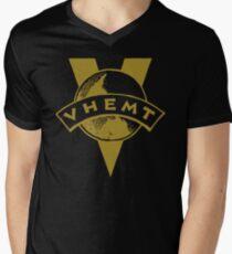 VHEMT T-Shirt mit V-Ausschnitt für Männer