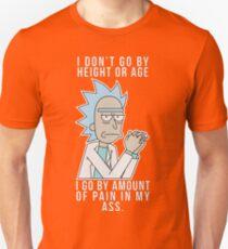 Rick - Pain in my ass (Colour) Unisex T-Shirt