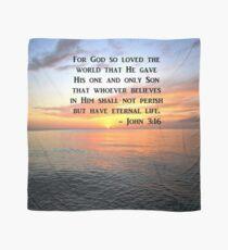 BREATHTAKING JOHN 3:16 SUNRISE SCRIPTURE Scarf