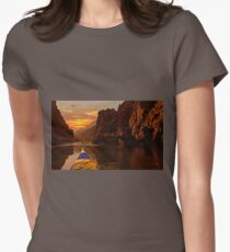 Challenging the Canyon Womens Fitted T-Shirt