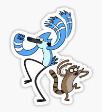 Regular Show Mordecai and Rigby Sticker